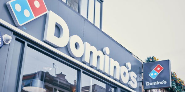 Domino's Pizza Shop Exterior
